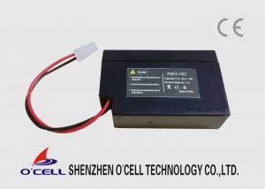 China 電気弁のために再充電可能な黒い12V 1.0Ah LifePO4電池 on sale