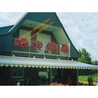 Patio Balcony Motorized Remote Control Automatic Retractable Electric Awning