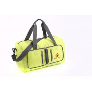 China Zip Closure Lightweight Travel Bags , Duffel Packable Messenger Bag With Pockets on sale