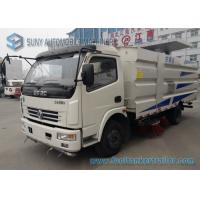 4 by 2 Street Cleaning Truck Road Sweeper Truck With CY4102-CE4F Engine