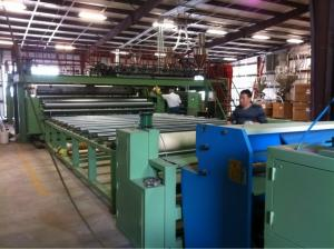 China 4 -8 Meters two sides geotextile coating line on sale