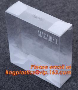 China transparent plastic box, High quality custom design logo printing clear plastic box wholsale,plastic packaging box,pet on sale
