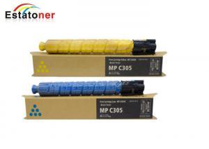 China Mp C305 Cmyk Ricoh Printer Toner Set For Ricoh Mp C305spf C306zsp 4k on sale