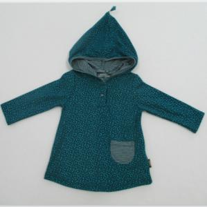 China Long Sleeve Cute Baby Girl Jackets Pull Over Hoodie on sale