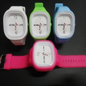 China Most Popular USA silicone jelly watch on sale