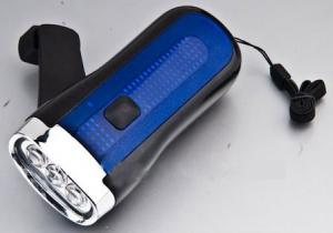 China Anfly portable rechargeable emergency dynamo led flashlighting Dynamo led flashlight on sale