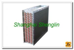 China Copper Tube Aluminum Fin Condensing Air Cooled Heat Exchangers on sale