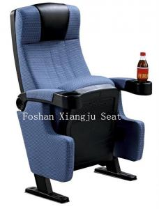 China Plastic Armrest Audience Seating Chairs Home Furniture Flame Retardant Fabric ISO on sale