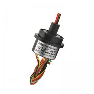 China Electrical Slip Ring with Minimal Noise of 6 Circuits Long life and Maintenance Free for Inspection Devices on sale