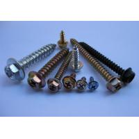 China HEXAGON FLANGE Self tapping screw  DIN 7983 on sale