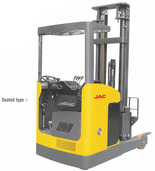Narrow Aisle Reach Truck Forklift 1 5 Ton Seated Type For