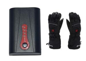 China Rechargeable 7.4v 2200mAh Battery Pack for Heated Gloves with Temperature Controller on sale