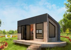 China Lightweight WPC Flooring Prefabricated Tiny House Engineered Framing System on sale