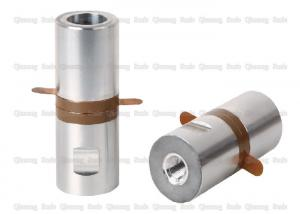 China 28Khz  Column Type Ultrasonic Piezoelectric Transducer 500W With 1/2-20UNF Screw on sale