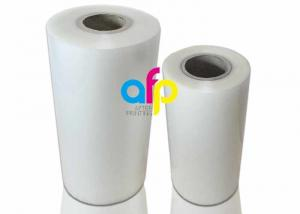 China Glossy / Matte Finishing Thermal Roll Laminating Film 250 Micron Thickness on sale