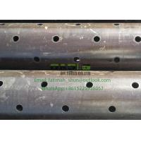 China China manufacturer provide of black surface Perforated Pipe&Tube on sale