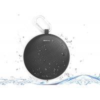 Mobile Phone Control Smart Bluetooth Speaker Black With LED Light Portable