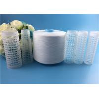 High Strength 100% Virgin Spun Polyester 50/2 Yarn for Sewing Thread Raw White