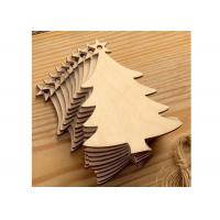 Creative Wood Anniversary Gifts Christmas Tree For Holiday / Party / Home Decoration