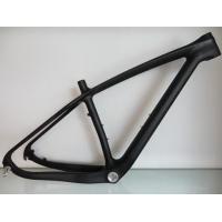 Small Carbon Carbon Mountain Bike Frame Mtb 27.5 Full Suspension , Disc Brake Road Bike Frameset