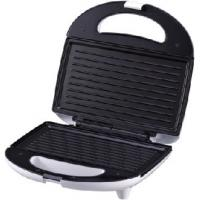 China 760W Non-stick coating Indoor Contact Grill and Pinini press with cord storage on sale