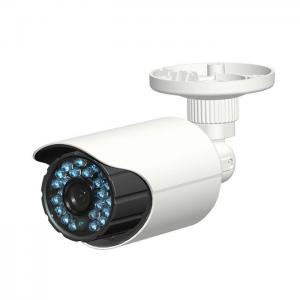 China IR LEDs length 15m HD-CVI CMOS Lightweight Bullet CMOS CCTV Camera , PC 720P High Resolution Camera on sale