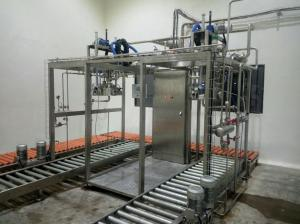 China Aseptic Filling Machine For pineapple Juice And Milk/  concentrated tomato paste aseptic filler on sale