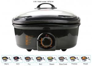 China 5 Liter Electric Multi Cooker , Power Pot Pressure Cooker 1200-1400W Overheat Protection on sale