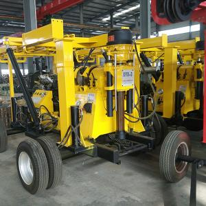China Durable Engineering Drilling Rig  Yellow Color Steel XYX-3 Wheel Core Drilling Rig on sale