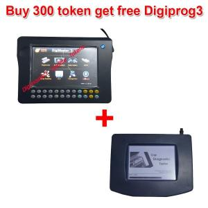 China Buy 300 Tokens for Digimaster 3/CKM100/CKM200 Get Free Digiprog 3 Main unit and OBD Cable on sale