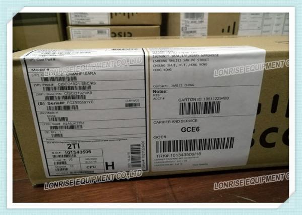 NEW CISCO1921-SEC/K9 2 Port Gigabit Ethernet Integrated