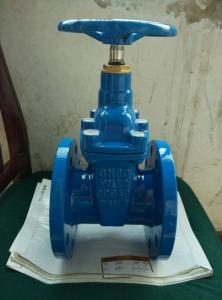 China DIN 3352 F4 Non Rising Stem Resilient Seat Gate Valve on sale