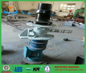 China Vertical Steel Marine Capstan Winch Length Measuring Device For Anchoring on sale