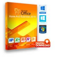 Desktop Office 2010 Key Code Home And Business License Digital Delivery