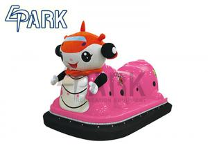 China Pink Remote Control Caterpillar Kids Bumper Car For Playground on sale