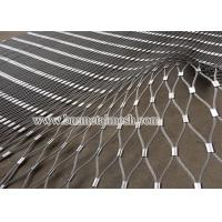 Aviary Mesh,Ferrule type rope mesh for zoo animal enclosure fence