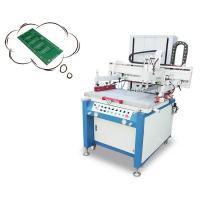 Movable Platform Silk Screen Printing Press , Semi Auto Screen Printing Press Machine
