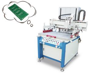 China Touch Screen Silk Screen Printing Machine With Double Cylinder Lifting Available on sale