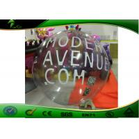 Round Inflatable Advertising Balloons , Airtight Transparent Inflatable Sphere