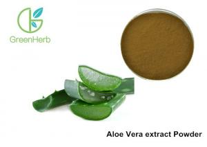 China 10/1 Aloe Vera Extract Powder Whole Leaf Aloe Barbadensis Miller For Medicine / Food on sale