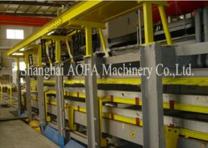 China Discontinious PU Sandwch Panel Production Line , Sandwich Panel Roll Forming Machine on sale