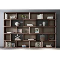 China Home Study room Office Furniture American Walnut Wood Combined Bookcase with Shelves by Classic Nordic design on sale
