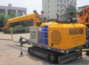 China Robotic Shotcrete Equipment Split Type For Small Section Tunnel Wet Mix System on sale