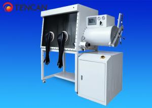 China Purification System 2 Glove Ports Inert Atmosphere Glove Box Single Operating Sided on sale