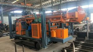 China 300m FY300A/ FY300 STEEL TRACK CRAWLER WATER WELL DRILLING  machine portable water well drilling rigs on sale