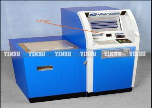 China Anti Rain Stainless ATM Machine Kiosk Fashion Style For Insurance Company on sale