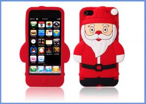 China Professional Mobile Phone Accessory , Mobile Phone Case Santa Claus Phone Cover on sale