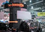 Color Printed Dome Shade Tent , Geodesic Dome House For Exhibition