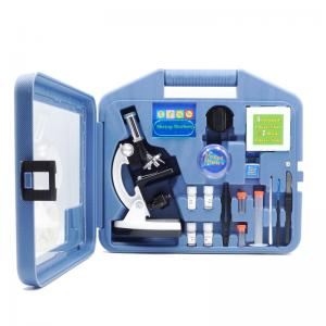 China A11.1513 1200X Children Biological Microscope Educational Student Microscope Set on sale
