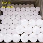 White Sterile 100% Cotton Absorbent Gauze Roll Jumbo Gauze Roll